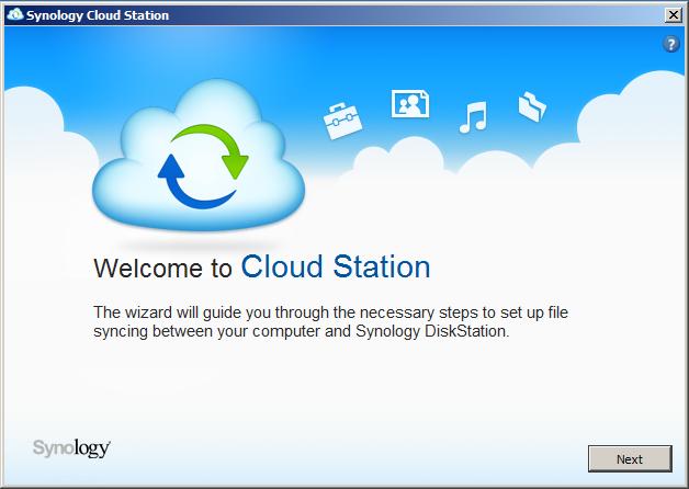 Synology cloud station setup download